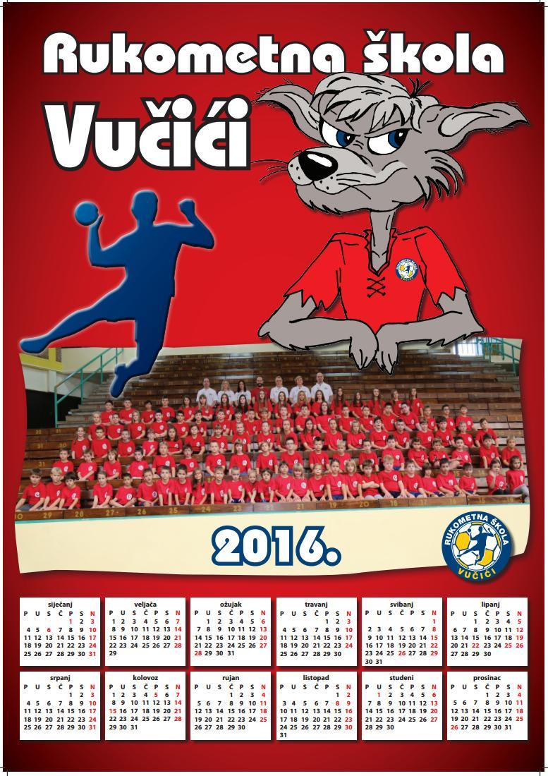 Rukometna Škola Vučići / Kalendari